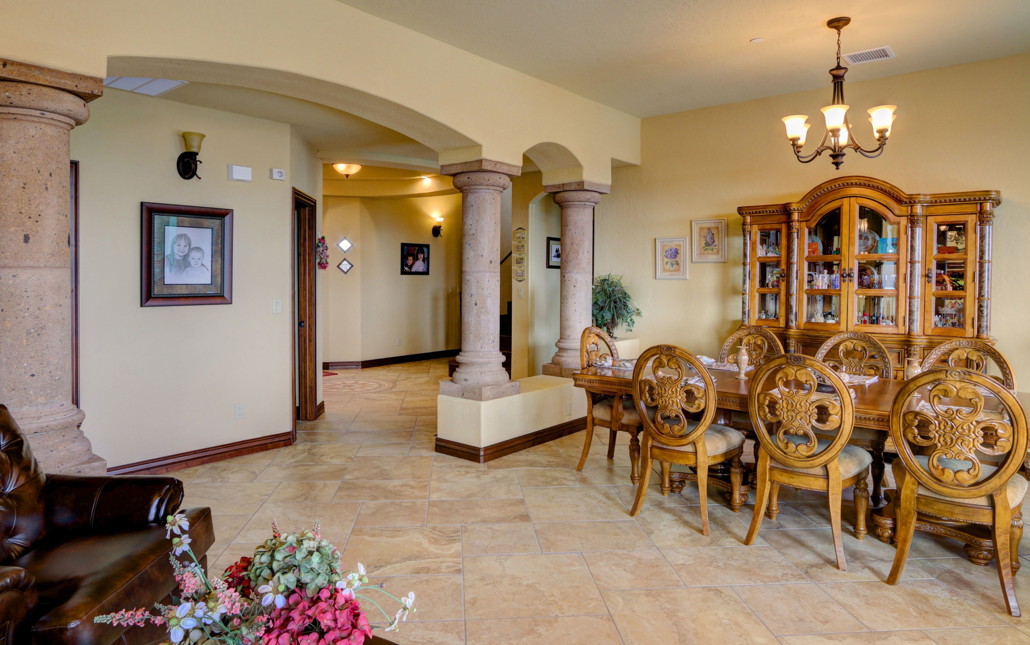 Ocotillo Estates El Paso TX Carravagio Dining Room