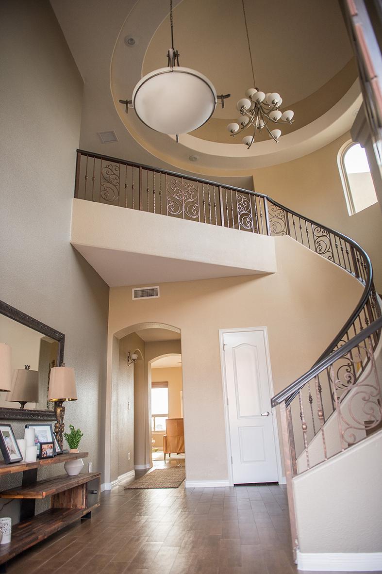 Franklin Hills El Paso TX Carravagio Staircase