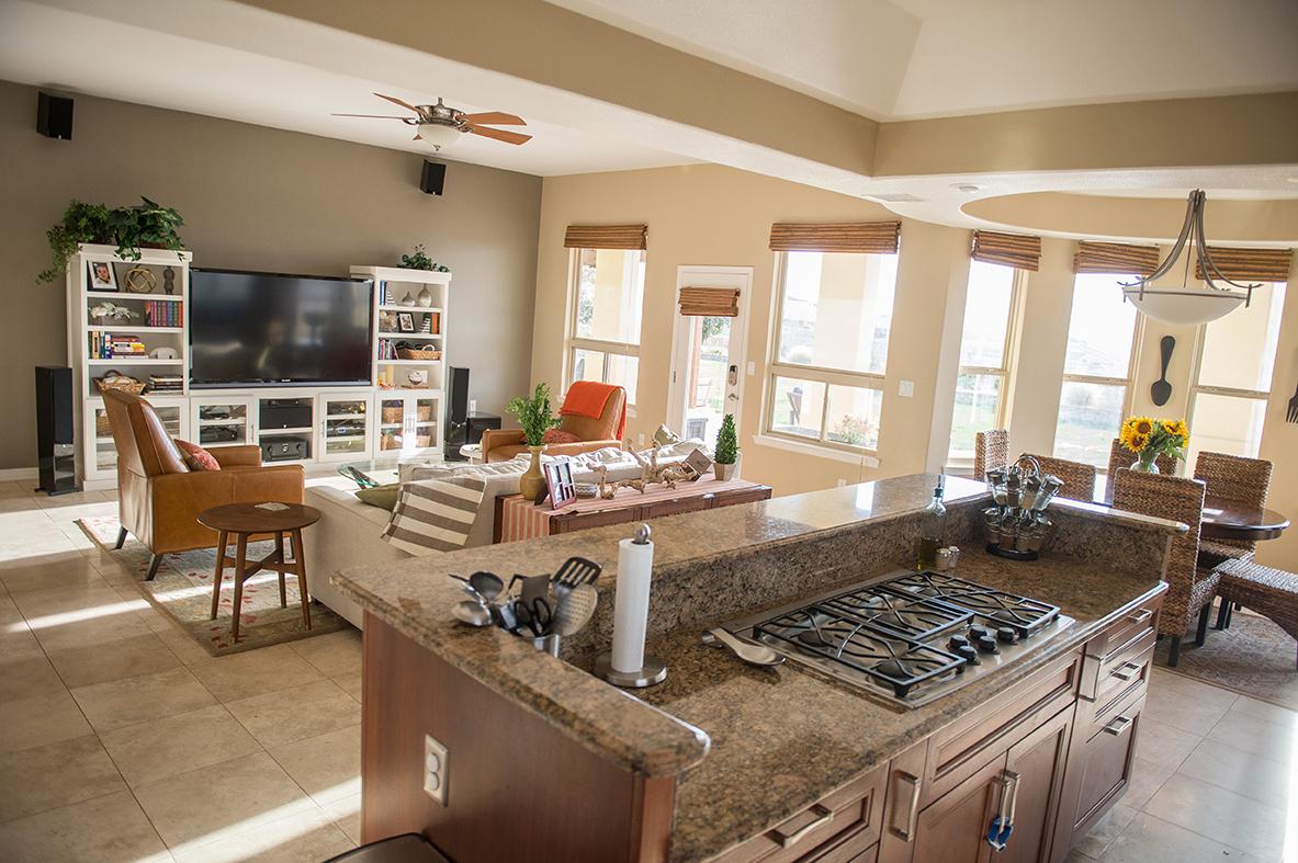 Franklin Hills El Paso TX Carravagio Kitchen Cooktop