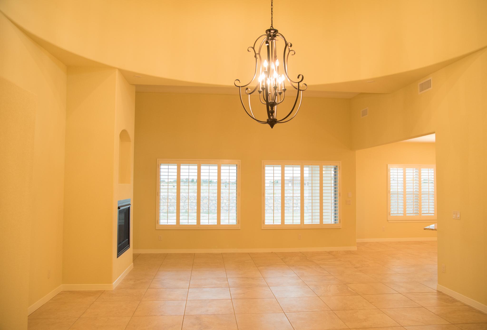 Haciendas del Rio El Paso TX Morgia II Living Room