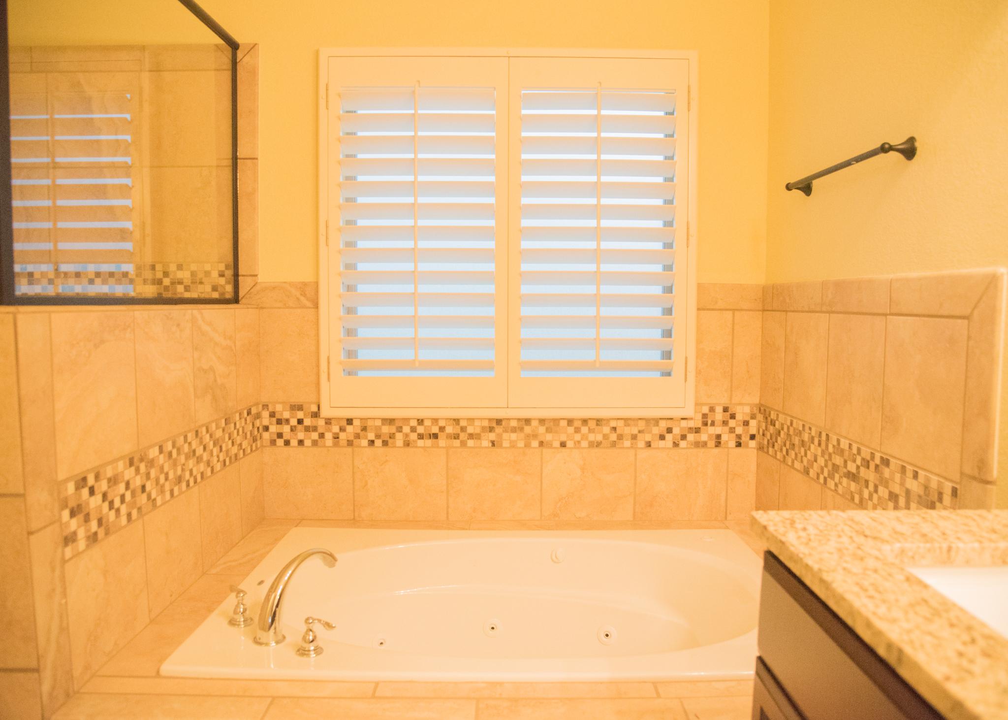 Haciendas del Rio El Paso TX Morgia II Master Bath Tub