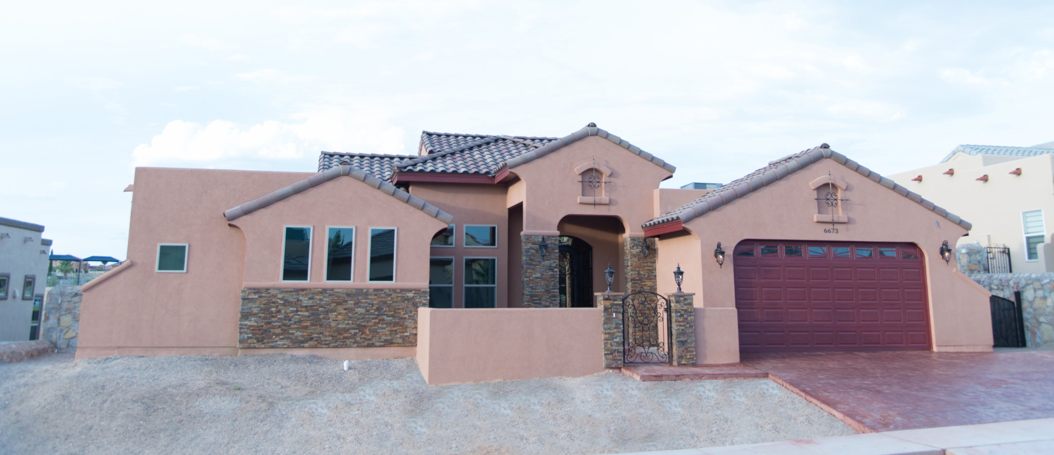 El Paso Tx Custom Homes Custom Plan Tuscany At Ridgeview