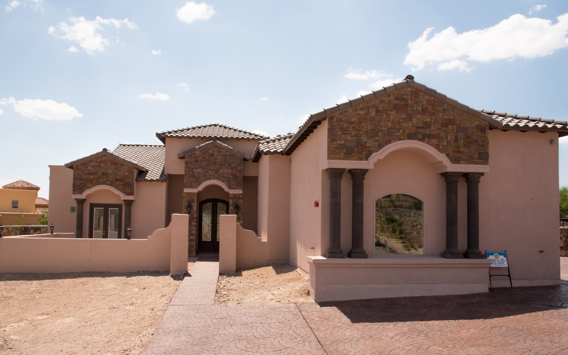 Custom Home Builders In El Paso Tx Custom Plan Ocotillo